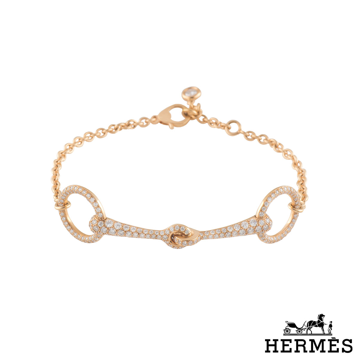 Hermes Kelly Bracelet Diamond